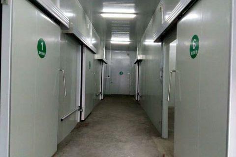 凉山州正欣商贸生鲜配送冷藏冷冻库工程案例