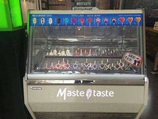 冰淇淋展示柜客户实拍一