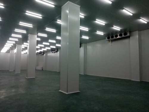 兰州申联生物医药类冷库建成后实拍