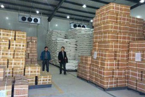 甘肃岷县中药材1200平方中药材冷库安装工程案例