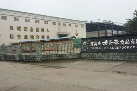 宜宾市娥天歌食品有限公司3000吨畜禽保鲜冷库工程案例