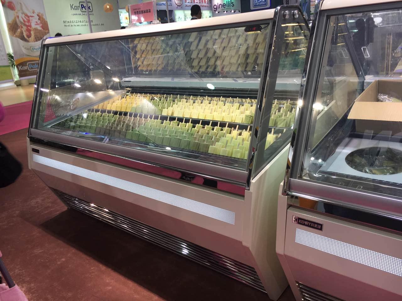 冰淇淋展示柜客户实拍三