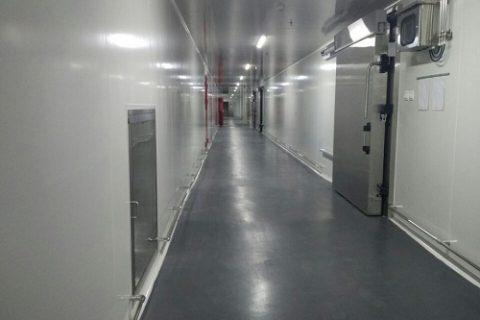 诺心食品(上海)有限公司食品低温加工贮存冷库案例