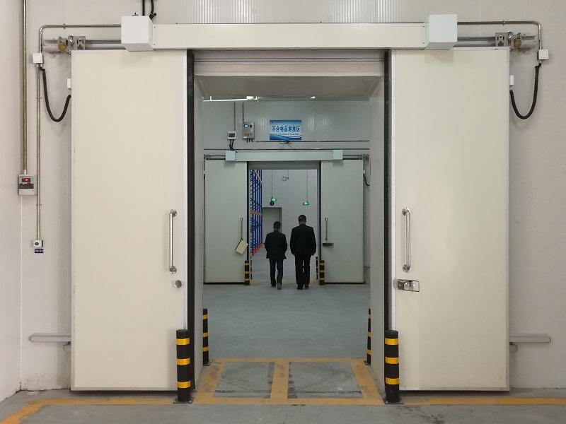 成都青白江铁路港综合保税区30000立方米大型肉类冷冻库工程案例