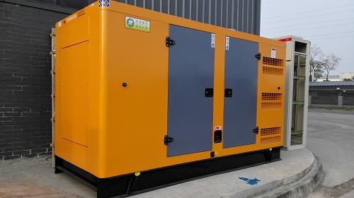 某物流公司所用的冷库发电机组