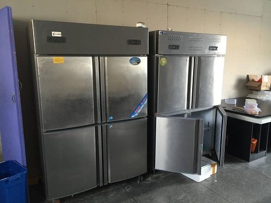 厨房商用冰箱实拍一