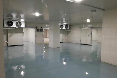 江苏2万立方米大型医疗器械第三方物流冷库工程案例