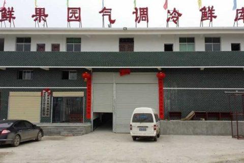 湖北鲜果园大型气调保鲜库工程案例