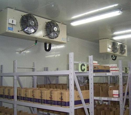 医药低温冷库所使用的酷霸冷风机