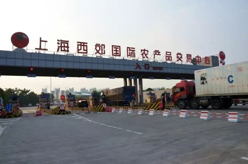 上海西郊国际农产品交易中心入口