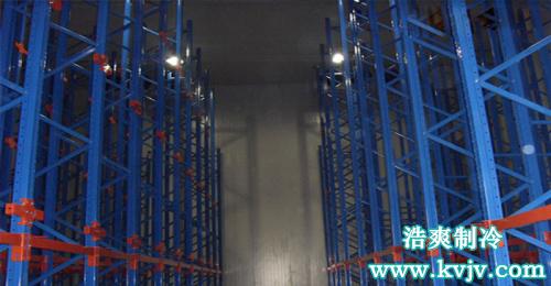 西郊国际冷库装卸货月台实拍