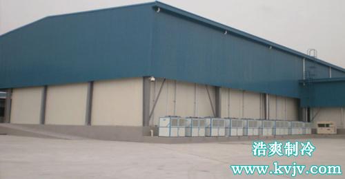 西郊国际冷库工程完成后的实拍