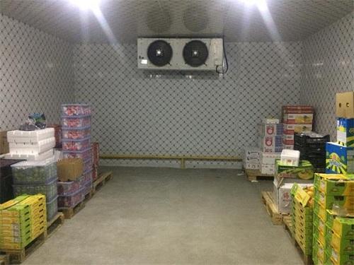 浩爽制冷为某农场建造的水果保鲜库