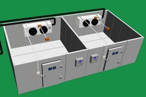 双温冷库安装多少钱?价格是如何计算的?