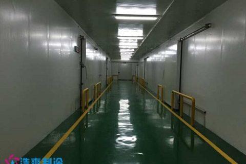 黑龙江绥芬河酷洋冷链4600平米大型物流冷藏库工程案例