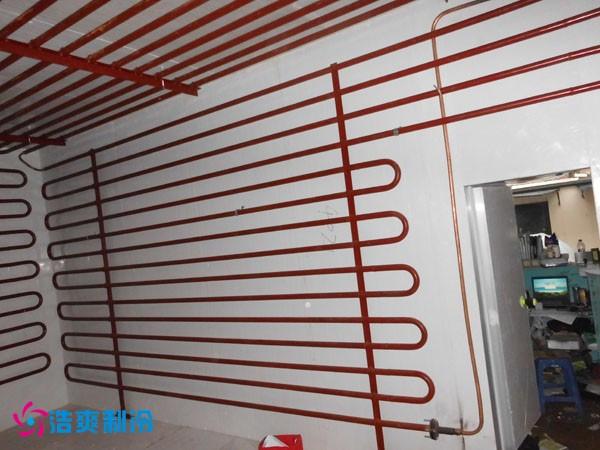 图示:冷库排管