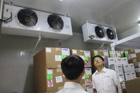 成都艾希生物科技疾病预防控制中心医用冷藏库工程案例
