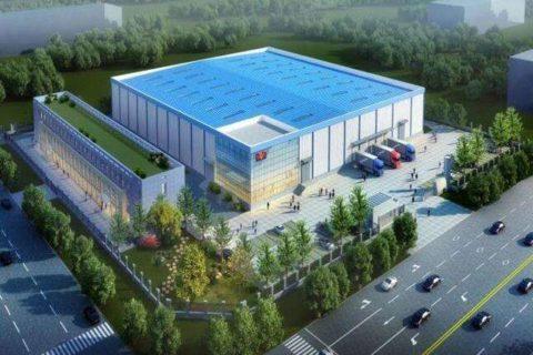 上海济洪蔬菜配送中心2700立方果蔬冷藏库工程案例