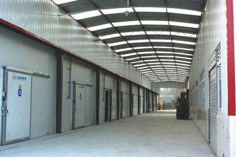 3000吨低温铝排冷库工程案例视频