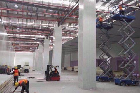 天津国家智能3D打印中心冷库工程案例视频