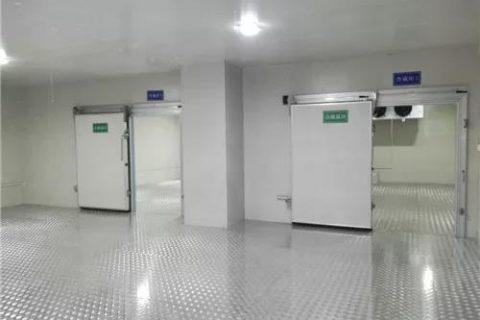 浙江博圣生物800立方医疗器械冷库工程案例