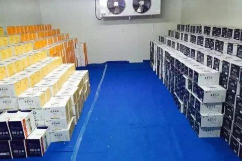 杭州萧山100立方2~8℃牛奶保鲜库工程案例
