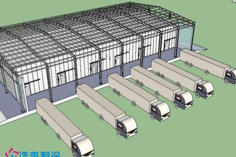 建造5000平米生鲜电商物流中心冷库需要多少钱?