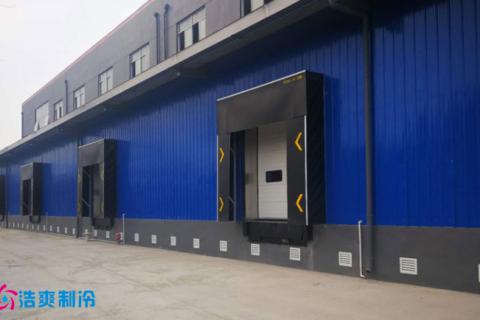 江苏仪征市12000立方大型生鲜农产品冷库工程案例