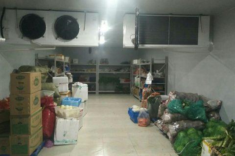 蔬菜保鲜冷库造价多少钱一平方?