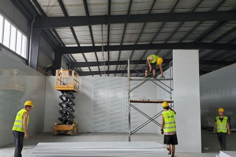四川达州700立方米茶叶冷藏保鲜库工程设计建造方案