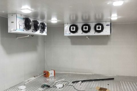 四川宜宾嘉福乐200平米食品冷库工程设计建造方案