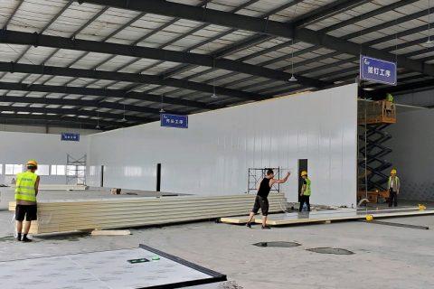 宜宾兴文天养极食(二期)1000立方米食品恒温冷库工程设计建造方案