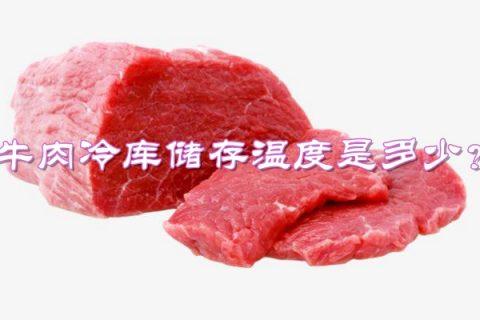 牛肉放冷库最佳储存温度是多少?
