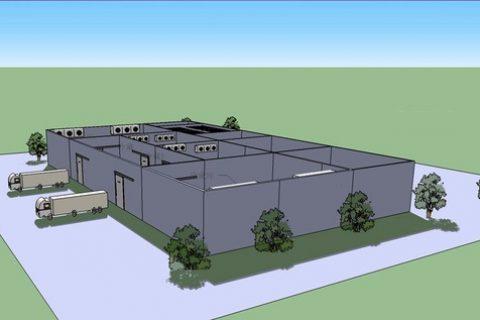 湖北宜昌市远华食品1500立方米肉类冷库工程设计建造方案