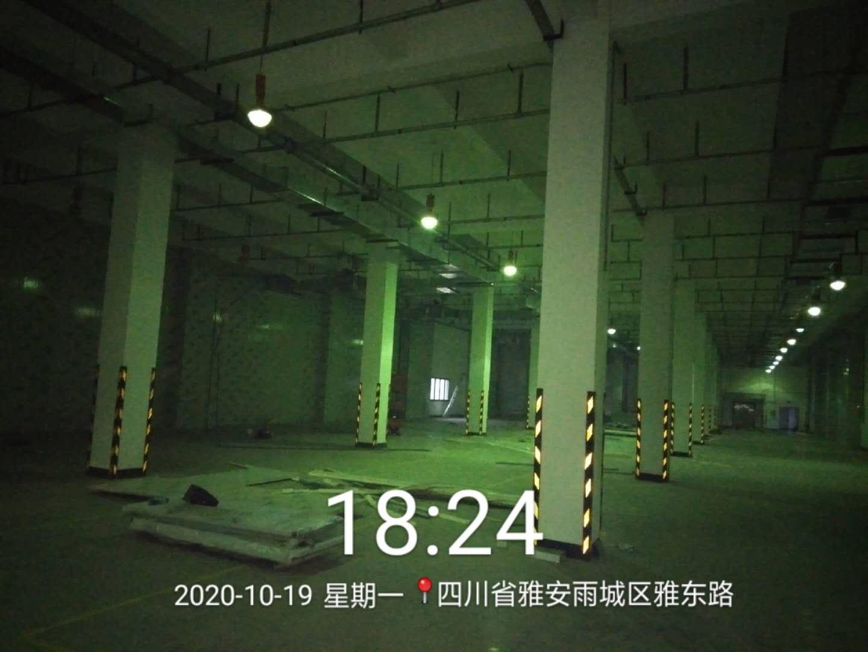雅安华润三九药业阴凉库内部实拍
